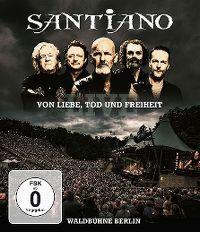 Cover Santiano - Von Liebe, Tod und Freiheit - Live - Waldbühne Berlin [DVD]